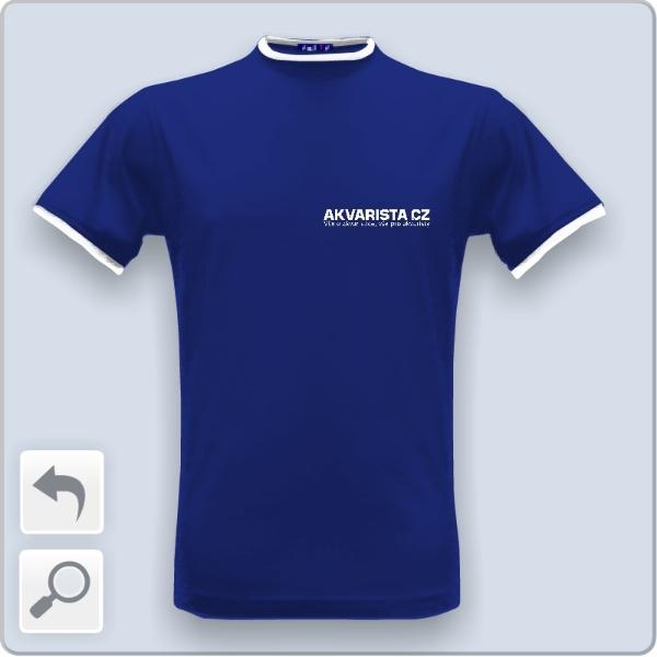 Tričko s potiskem Triko modré  1138d808e4